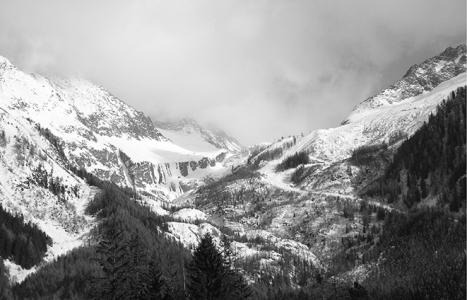 E. Jackson – Argentiere Glacier March 2010 (C-type print)